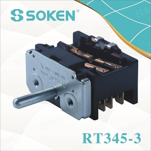 Key Oven Parts for 2 Position Rotary Switch T150 TUV