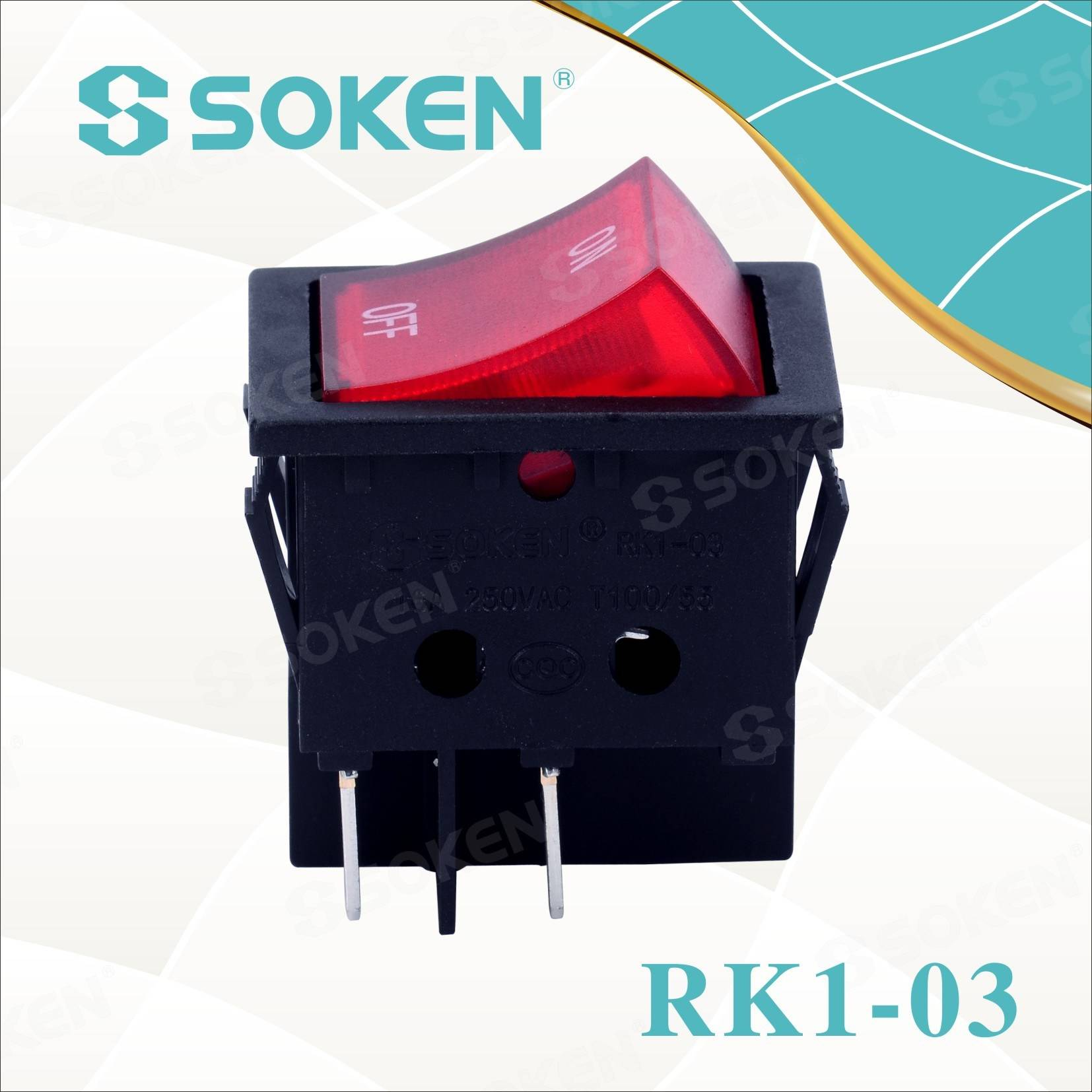 Upaljene na off Rocker Switch Panel