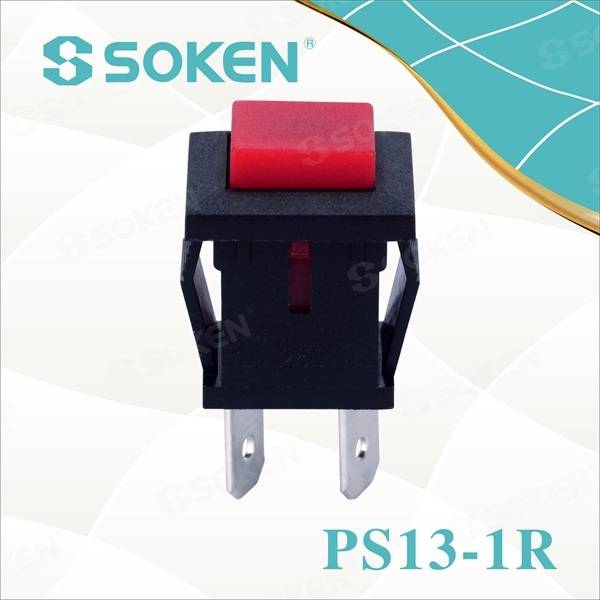 Rectangular Push Button Switch