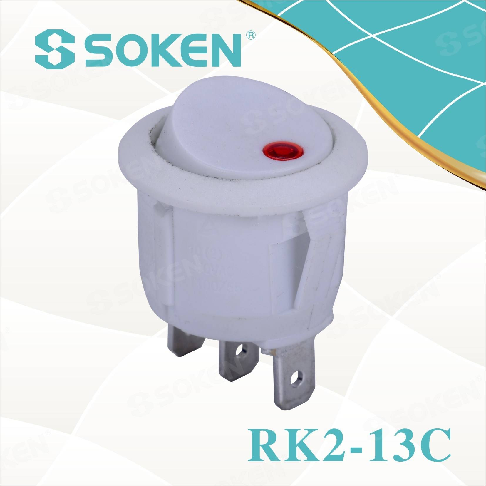 Manufacturing Companies for Blue Lighted Rocker Switch -