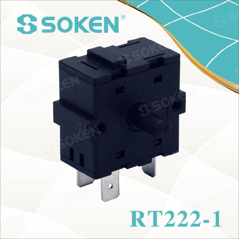 Soken 3 Position Rotary Switch