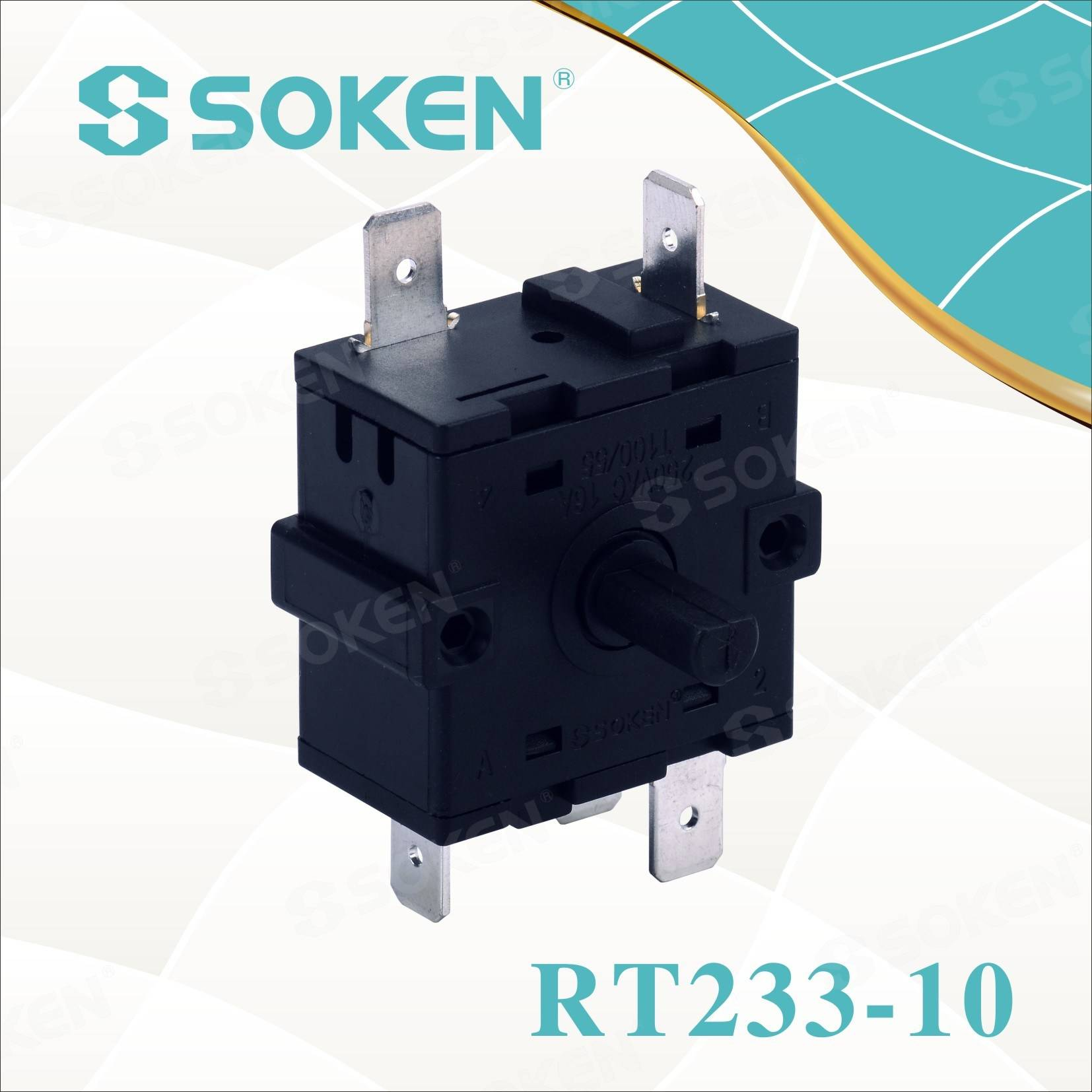 New Fashion Design for Ceramic Rotary Switch -