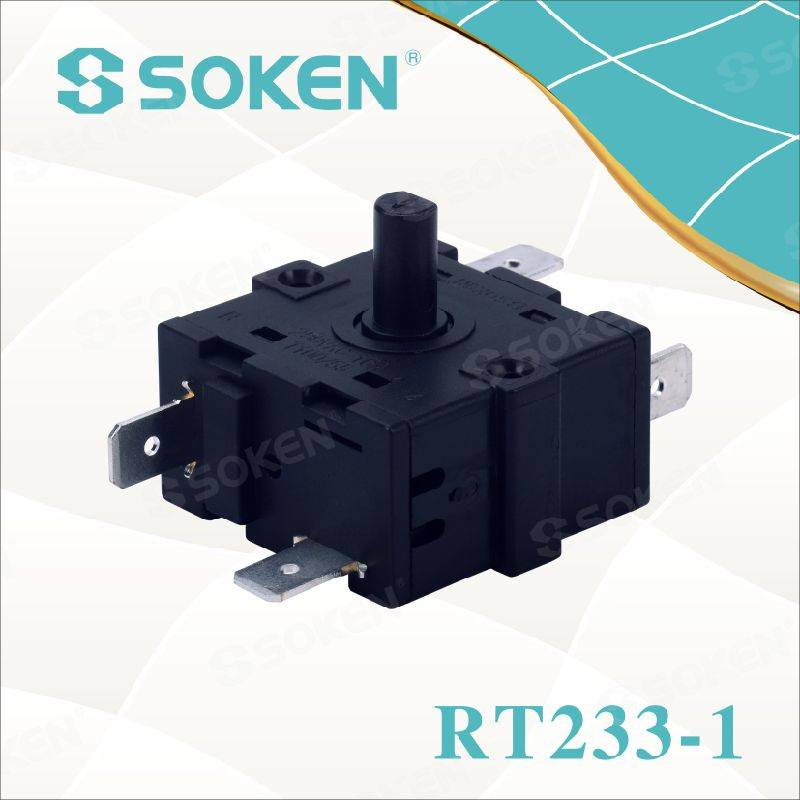 Soken 4 Position Oven Rotary Switch