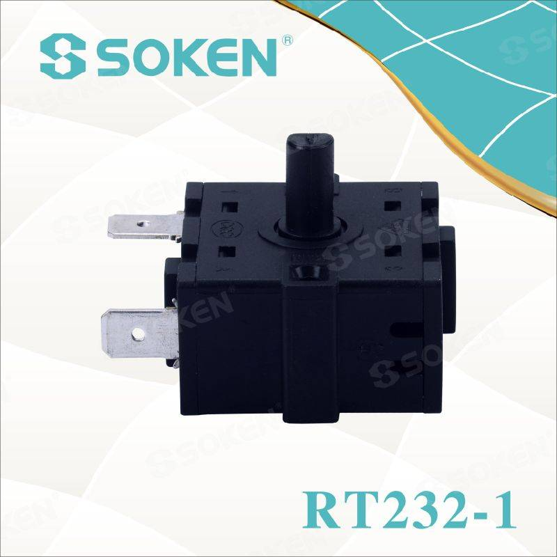 Soken 4 Position Rotary Switch