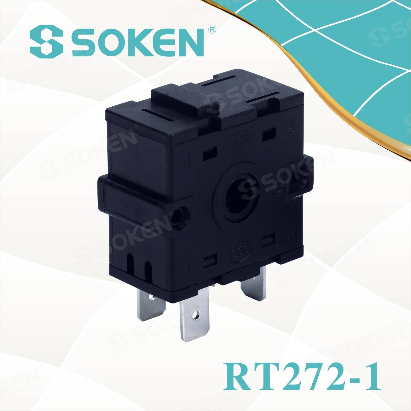 Popular Design for Rotary Button Illuminated Switch -