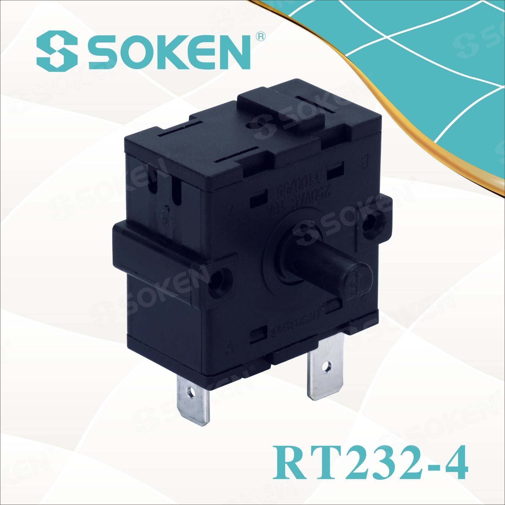 Personlized Products 3 Pole Rocker Switch -