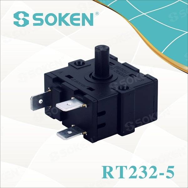 Soken Electrical Oil Heater Rotary Switch Gottak 250V 16A