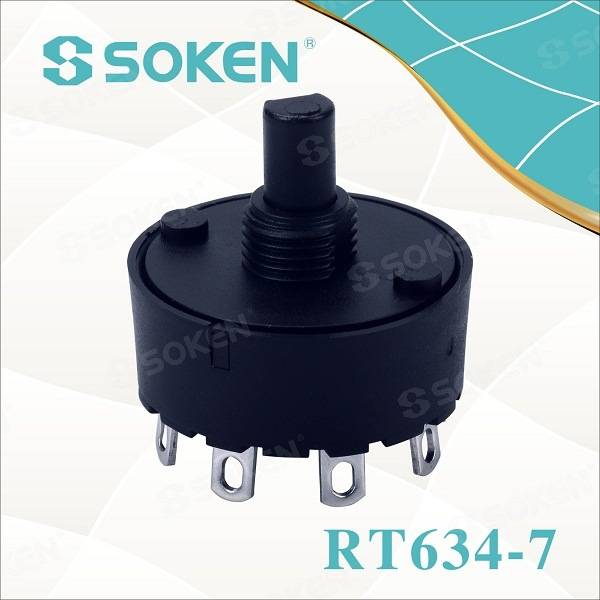 Soken Juicer Rotary Switch 2-8 Position 6 (4) a T85