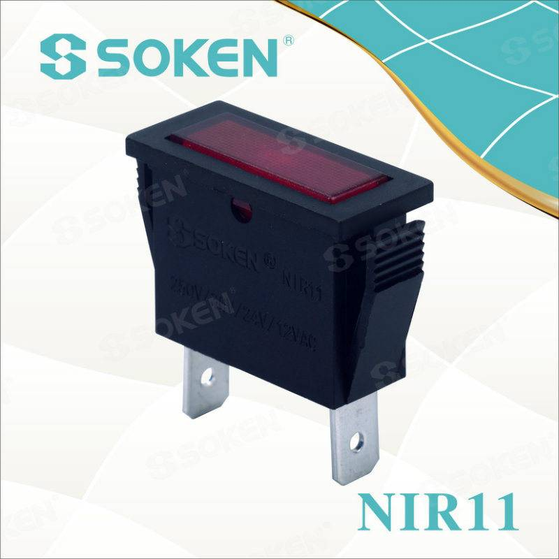 Soken LED/Neon 2 Pin Indicator Light
