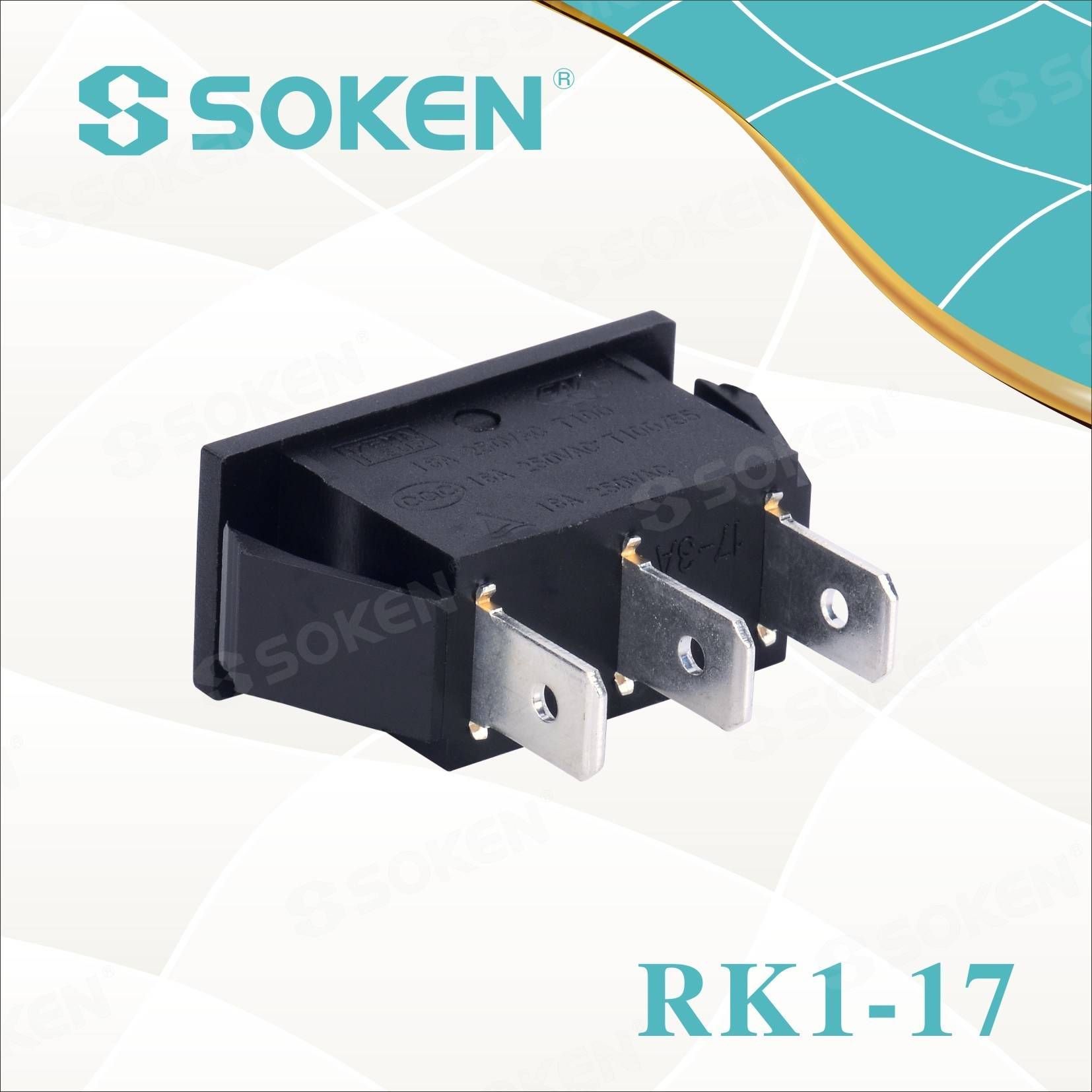 OEM China On Off On Rocker Switch -