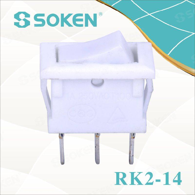 Soken Rk2-14 1X2 Electric Rocker Switch
