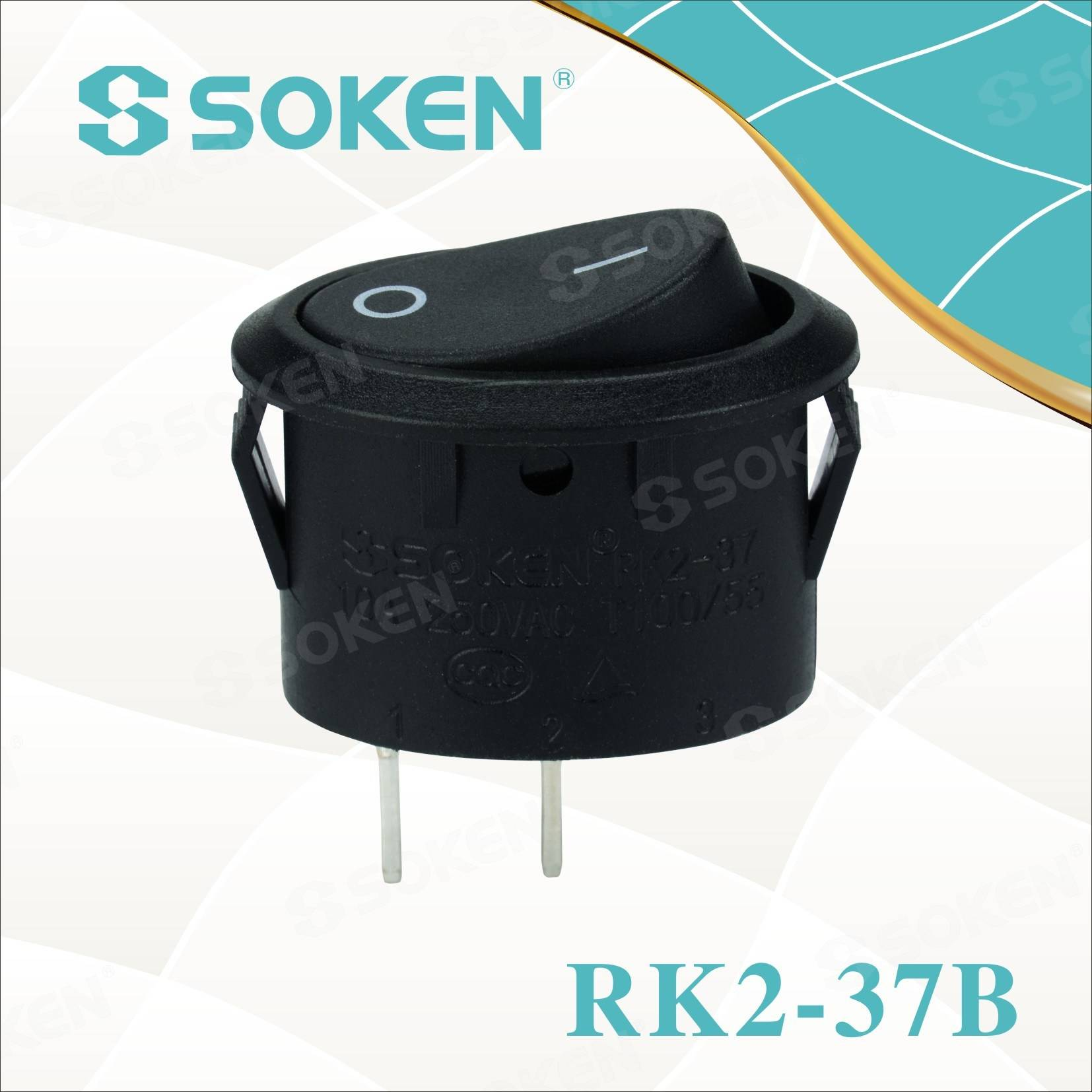Soken Rk2-37b Rocker Switch