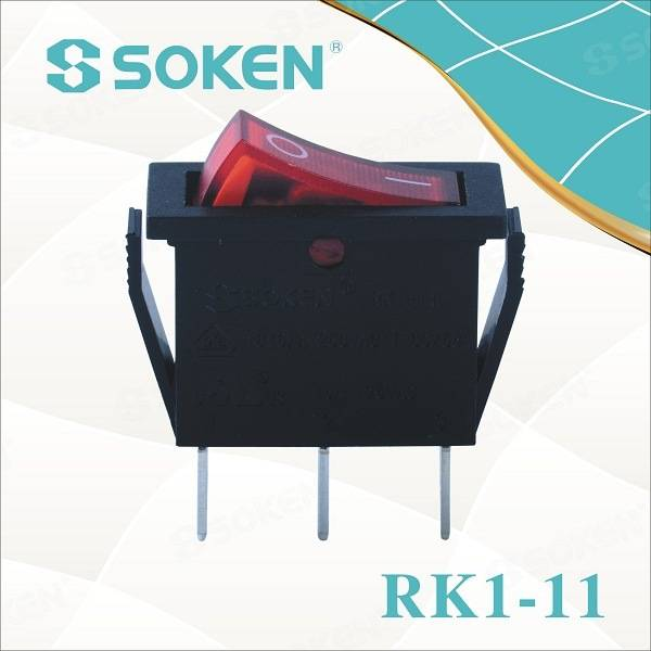 2018 New Style Ip67 Rocker Switch -