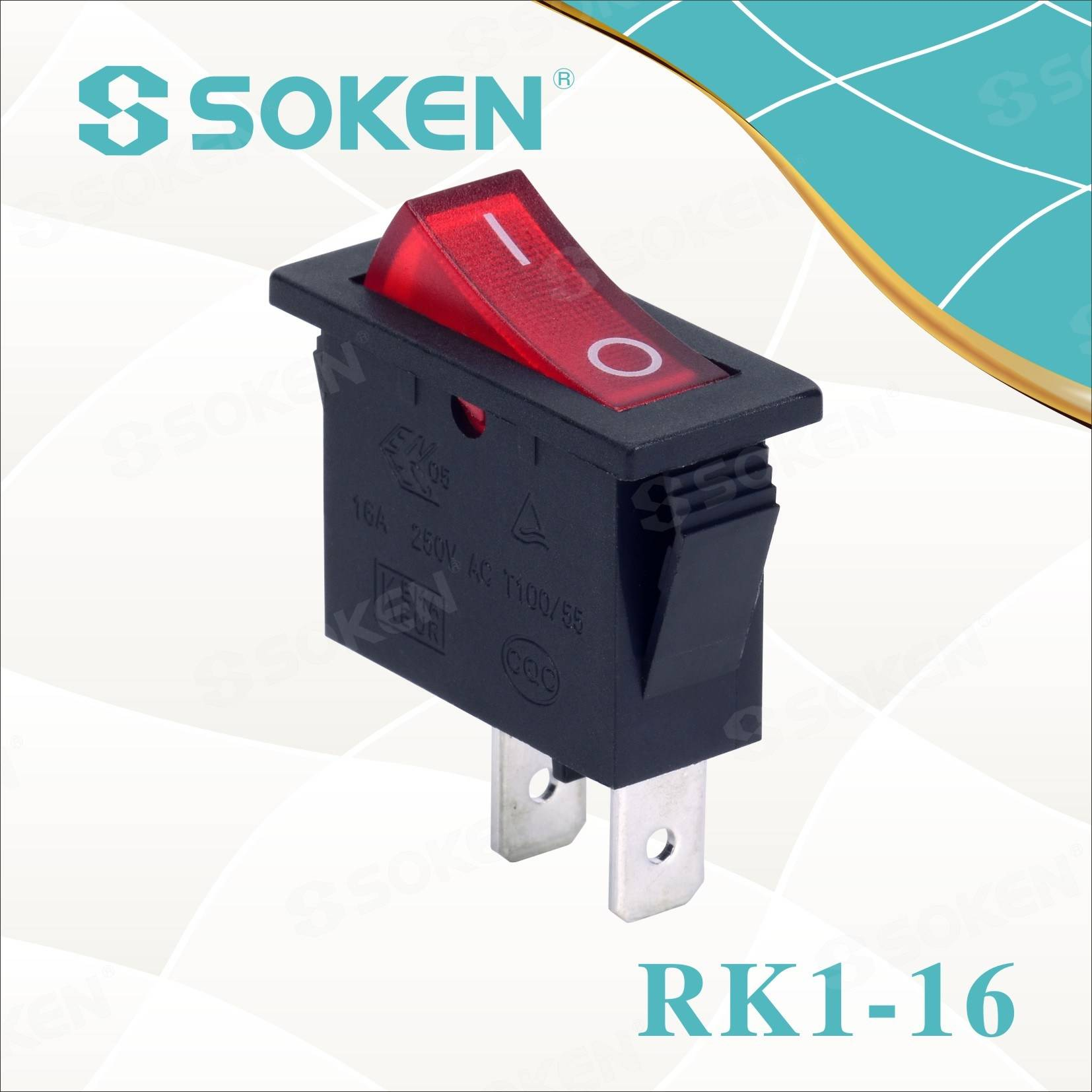 Soken Rocker Switch Without Light