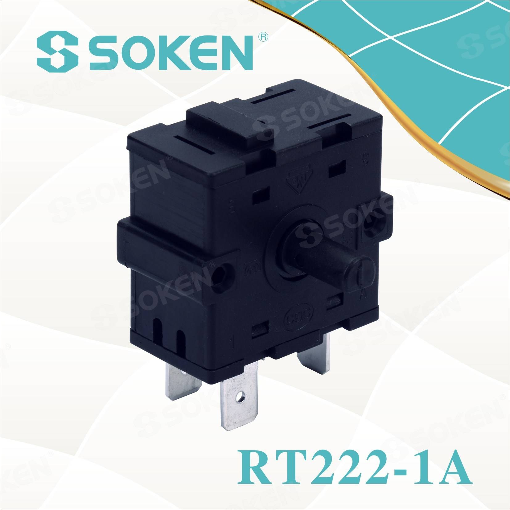 Soken Rotary Switch 2 Position