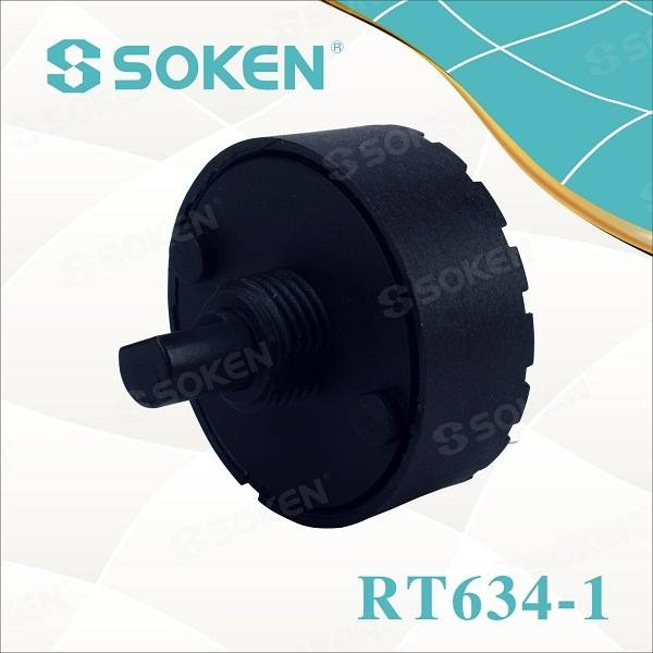 Soken Rotary Switch 4 Position 6 (4) a T85 TUV