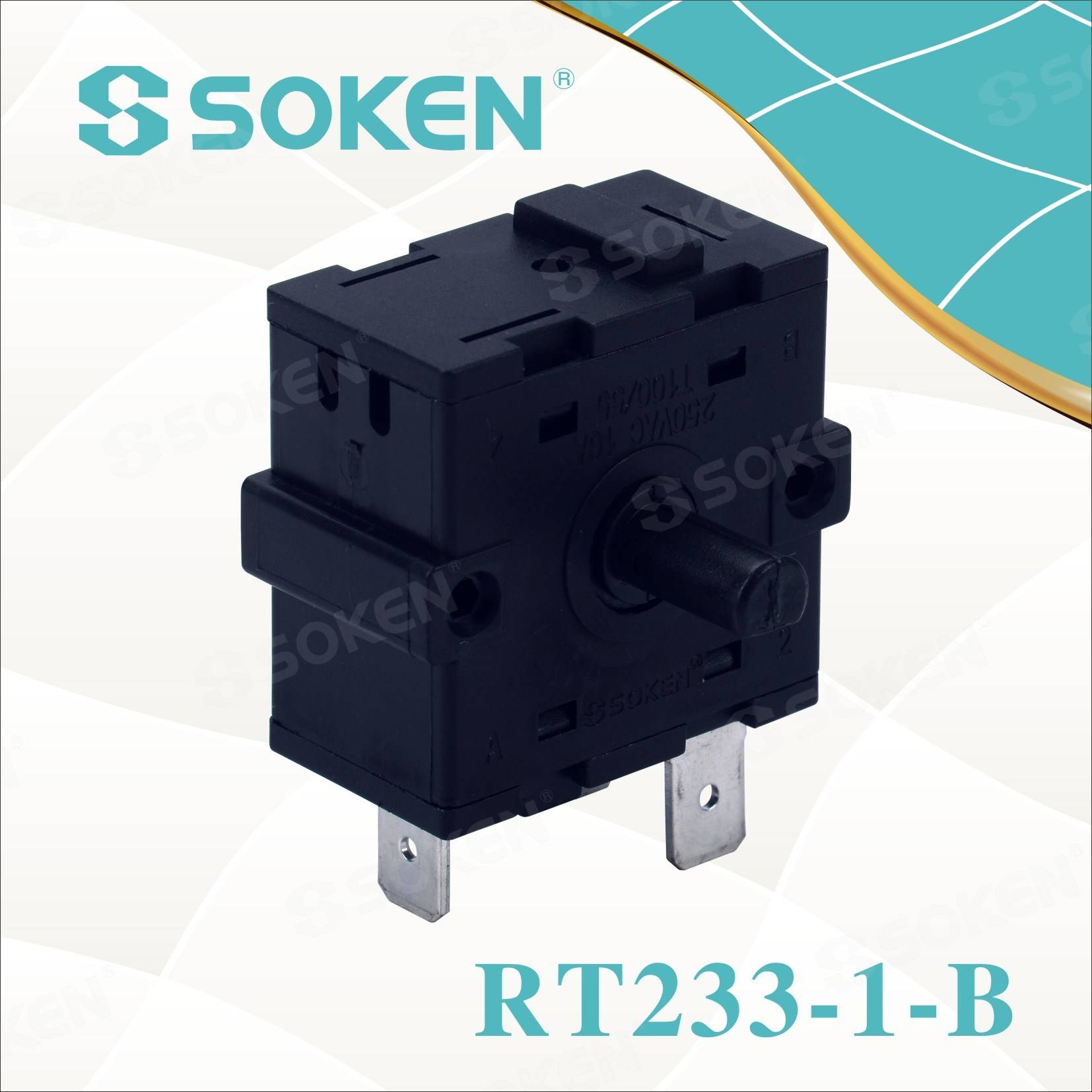 Factory Free sample Metal 4 Pins Push Button Switch -