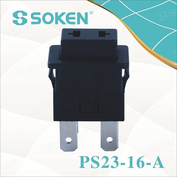 Soken Socket Extension Push Button Switch Momentary 16A