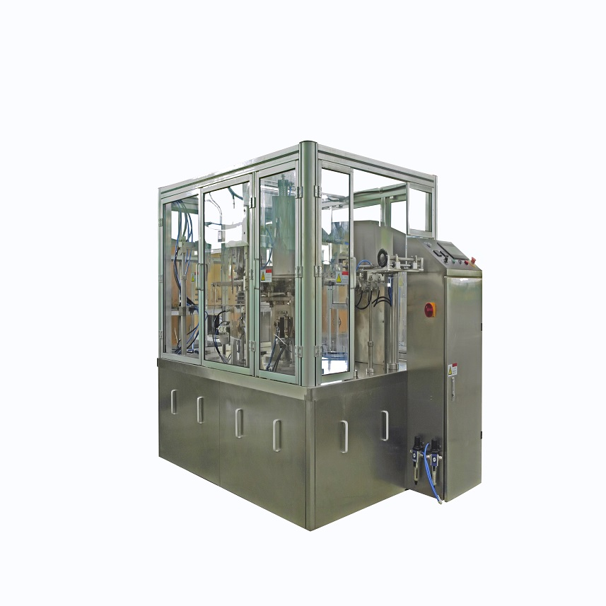 SANITARY NAPKIN PRE-MADE PACKING MACHINE ADULT DIAPER PACKING MACHINE WITH ZIPPER BAG Featured Image