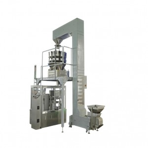 CHIPS PACKING MACHINE WITH NITROGEN FLUSHING AUTOMATIC SNACKS FILLING AND PACKING MACHINE WITH AIR FLUSHING