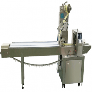 HORIZONTAL FLOW WRAP CRISP BREAD PACKING MACHINE FLOW BREAD PACKING MACHINE PILLOW BREAD PACKING MACHINE