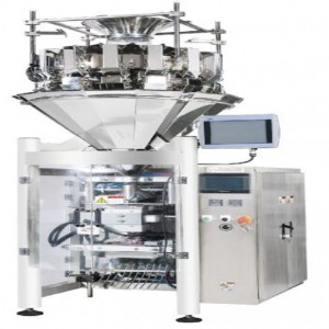 VFFS AUTOMATIC PEPPER POWDER PACKING MACHINE WITH AUGER SCALE