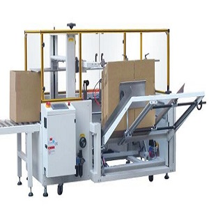 AUTOMATIC CARTON ERECTOR MACHINE, CARTON LOADING AND AUTOMATIC SEALING MACHINE PRODUCTION LINE FOR JELLY AND MESS TIN/BOX