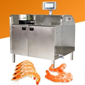 AUTOMATIC SHRIMP/PRAWN PEELING MACHINE FOR SHRIMP PROCESSING
