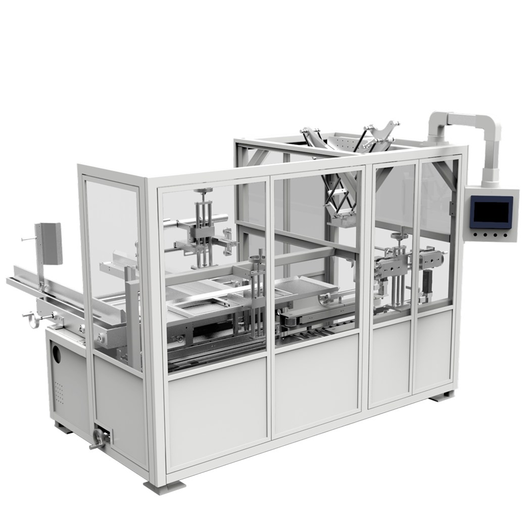 FAICAL MASK CARTON PACKING MACHINE,CASE LOADING AND CASE PACKING MACHINE Featured Image
