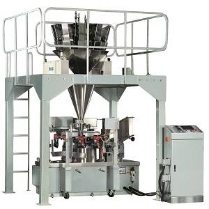 CHIPS SNACKS FOOD GRANULE PREMADE BAG PACKING MACHINE WITH NITROGEN FILLING