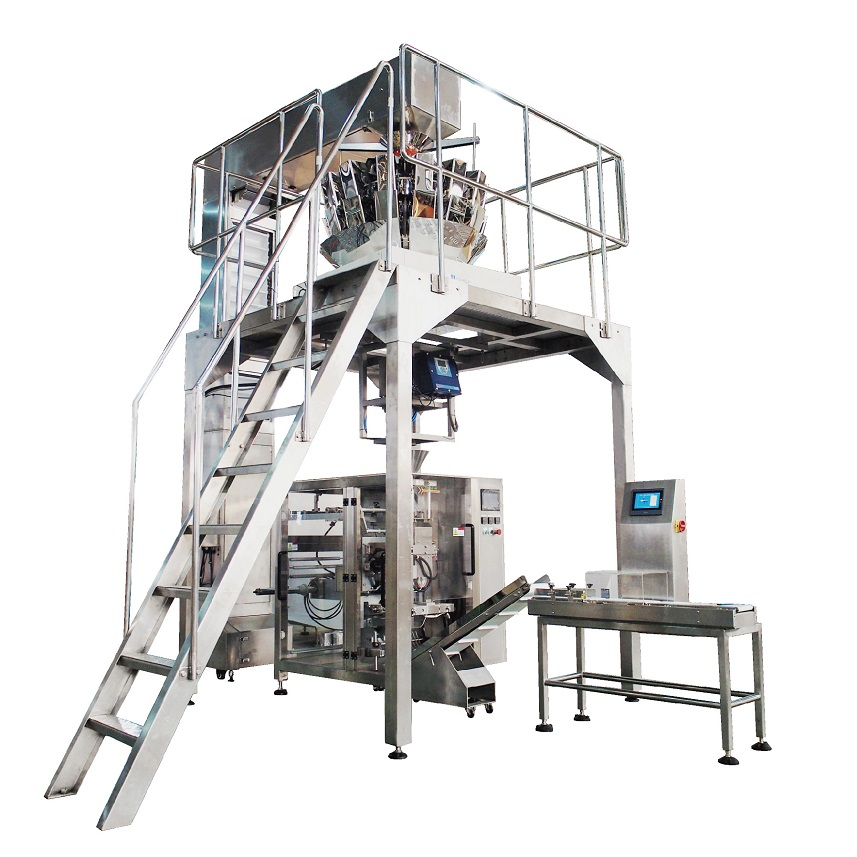 High Performance High Quality Carton Box Packing Machine -  VFFS VERTICAL PACKING MACHINE FOR BISCUITS AND SMALL BREAD – Soontrue
