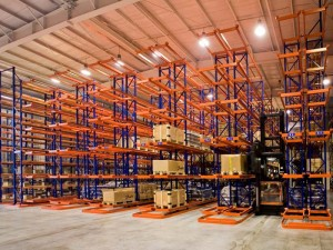 China Factory for Pallet Sliding Rack - Very Narrow Aisle(VNA) Warehouse Pallet Racking – Spieth