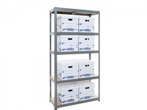 Euro Standard Galvanized Curled Post Light Duty Shelving