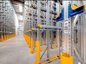 Drive In Racking For Warehouse Cold Room Storage