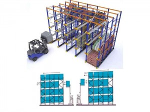 High Density Storage Drive in Pallet Racking