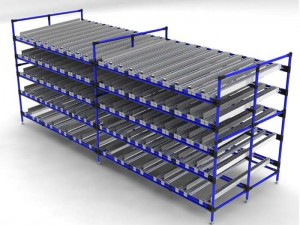 Carton Flow Gravity Flow Pallet Racking