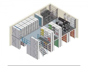New Delivery for Warehouse Racking Systems - Heavy Duty Rack Supported Mezzanine Floor – Spieth