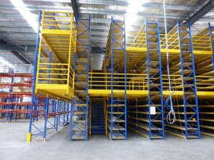 Multi-Level Storage Warehouse Mezzanine Racking Floor