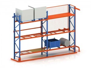 Heavy Duty Adjustable Selective Pallet Racking System