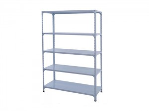 Light Duty Warehouse Storage Steel Slotted Angle Shelving