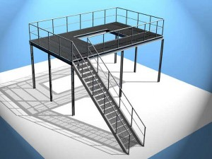 Heavy Duty Industrial Steel Platform Structure