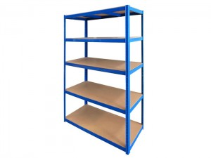 Powder Coating Uncurled Light Duty Shelving