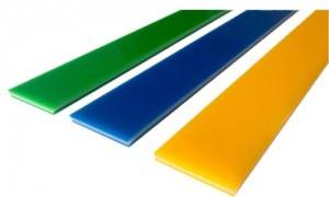Three layer sandwich squeegee