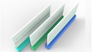 Touch screen fiberglass board squeegee
