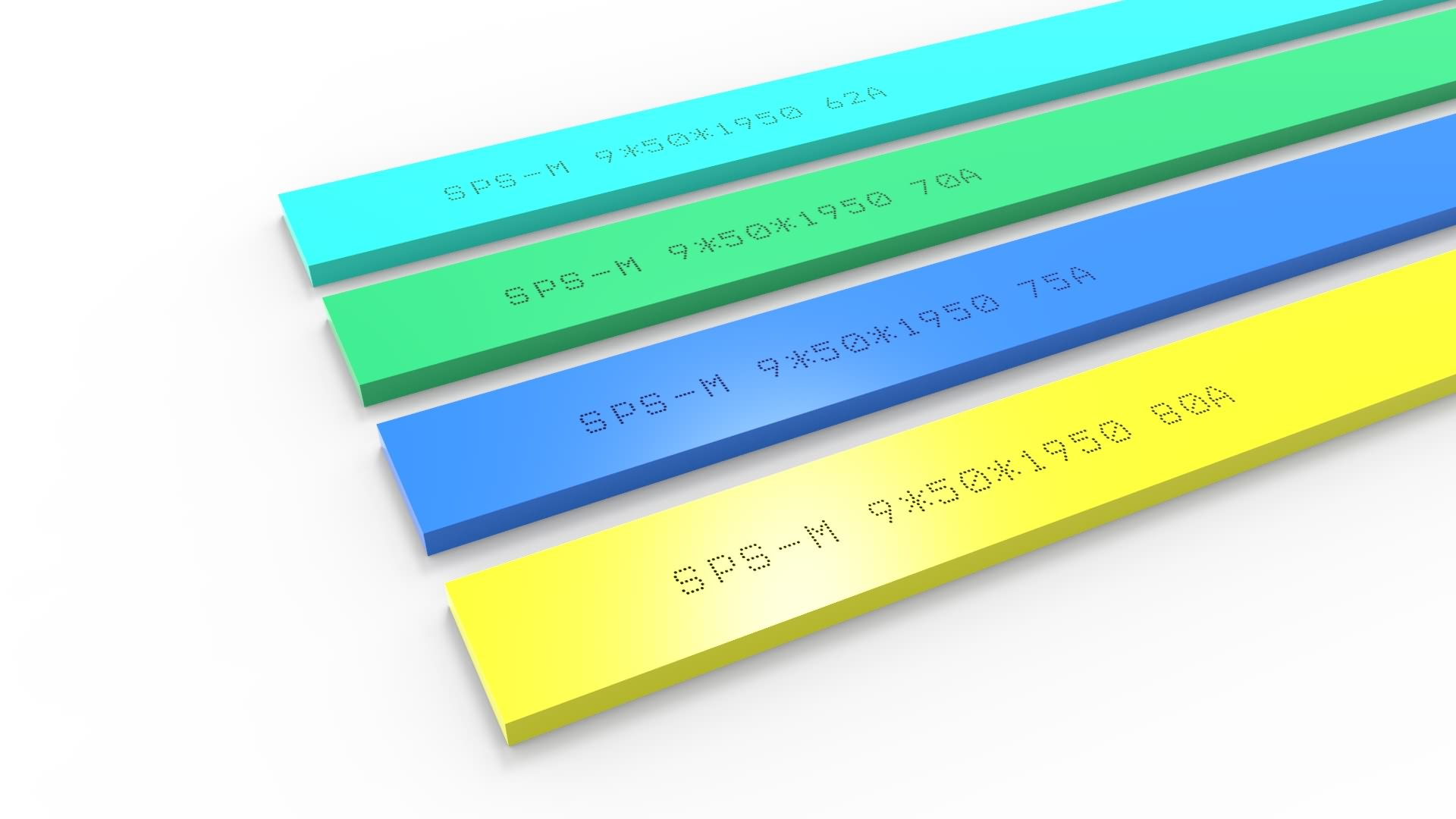 Special Design for High Quality Printing Squeegee Rubber -