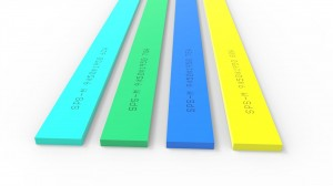 Good Quality Gel Plate Silicone Squeegee Screen Printing Scraper Blade For Bbq Food