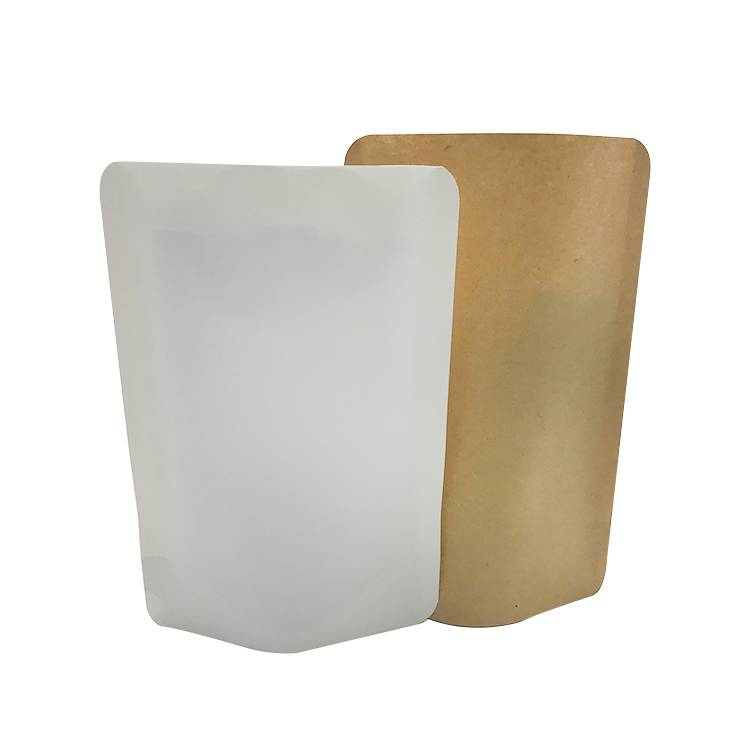 Biodegradable Kraft Paper Standing Pouch Featured Image