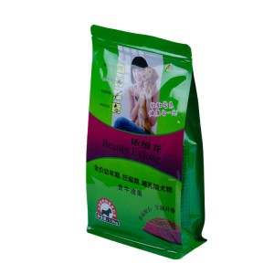 Aluminum Foil Plastic Pouch With Zipper For Pet Food