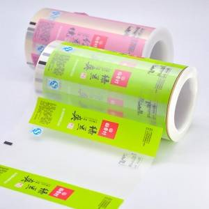 100% Original Plastic Roll For Food Packaging -