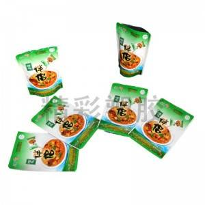 Factory Promotional Food Grade Stand Up Pouches -